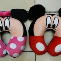 Jual Bantal Leher Mickey atau Minnie Mouse Murah