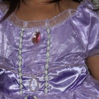 baju anak anak perempuan Kostum Sofia the first