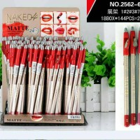 NAKED 4 kiss beauty matte waterproof lip liner pencil serut