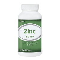 GNC Zinc 50MG - 250 Vegetarian Tablets