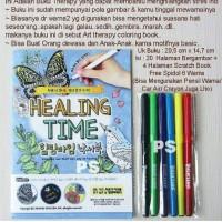 Buku Terapi Mewarnai Anti Stress Ala Secret Garden