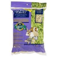 Alfalfa King Oat Wheat and Barley Hay 16oz Real Pack Kemasan Asli