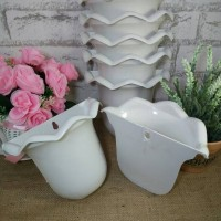 pot bunga plastik dinding gantung/vas