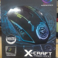 X-Craft TREK 1000 MACRO Gaming Mouse