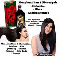 zam zam Zamzam hair oil minyak penumbuh rambut jambang jenggot bulu
