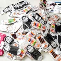 Jual Tali Sepatu Silikon 'koollaces' (made in Korea) Murah
