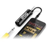IRIG AMPLITUBE GUITAR ORIGINAL FOR IPHONE / IPOD / IPAD BLACK