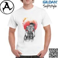 Kaos Pria / Wanita Original Gildan Softstyle - Yakuza Cowboy