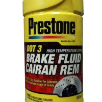 Minyak Rem Prestone 1 Liter DOT 3 Brake Fluid Cairan Rem Mobil & Motor