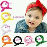 bandana kelinci bayi dan anak bando headband