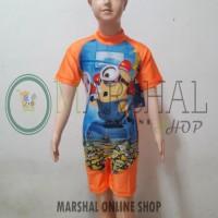 Jual Baju Renang Diving Anak Minion CDSP005 Murah