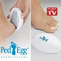 Ped Egg As Seen On TV - Pad Menghaluskan Kaki Bye2 Kapalan & Pecah2, Welcome Halus