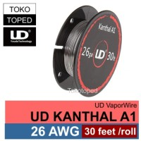 Authentic UD Kanthal A1 Wire 26 AWG | 0.4mm | vaporizer vapor rda