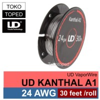 Authentic UD Kanthal A1 Wire 24 AWG | 0.5mm | vaporizer vapor rda