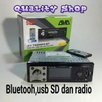 Jual PALING MURAH!!! tape mobil AVA BLUETOOH USB SD dan RADIO ( 50X4 watt) Murah