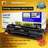 Toner laserjet HP CB435A 35A 325 P1002 p1003 p1004 p1005 Compatible
