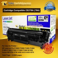 Cartridge Toner Compatible HP CE278A 78A Canon CRG 128 328 728,