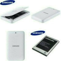 Batre + Desktop Charger Samsung Galaxy Note 3 Orignal Battery Batere
