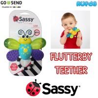 Sassy Flutterby Teether Bayi 3 Bulan +