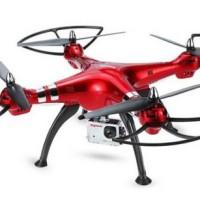 Drone tercanggih quadcopter Syma X8HG 8MP angkat Camera kamera Gopro
