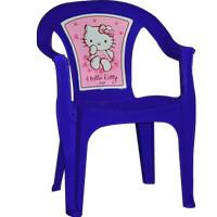 Kursi Plastik Belajar Anak Makan _ Hello Kitty (KAC 21 KTMG)
