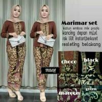 Marimar Set Baju Kondangan Baju Wanita Baju Muslim Kebaya Batik