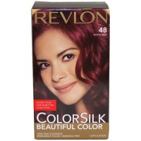 REVLON COLORSILK BEAUTIFUL COLOR 48 BURGUNDY