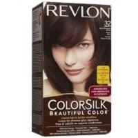 REVLON COLORSILK BEAUTIFUL COLOR NO 32 DARK MAHOGANY BROWN