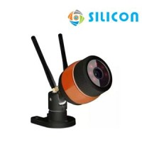 STANDALONE IP CAMERA OUTDOOR SILICON RS-100XF (BLACK)