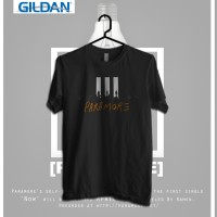 Paramore Stage Kaos Band Printed In Gildan