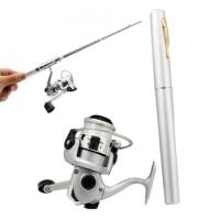 Pocket Pen Fishing Rod - Alat Pancing Mini Portable Bentuk Pena