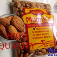 harga Kacang Almond Mentah / Raw Almond High Quality 250gr Tokopedia.com
