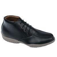 Sepatu Boots Casual Pria - hitam Raindoz RAG 4816 original cibaduyut