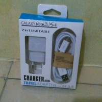 CHARGER HP ANDROID / TRAVEL ADAPTER 2 IN 1 SAMSUNG GALAXY NOTE 3 / S4