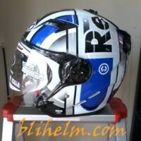 harga Helm Nhk Gladiator Red Bull White/blue Tokopedia.com