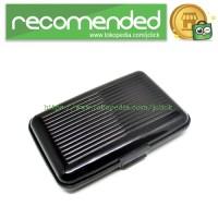 Bank Card Pack Sets Holder RFID Cartridge / Dompet Travel - Black