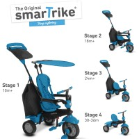 Smart Trike - Glow Touch Steering 4-in-1 Trike (Blue)