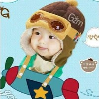 Topi Pilot Korea (Korean Pilot Hat)