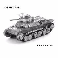 3D PUZZLE metal Tank CHI HA TANK
