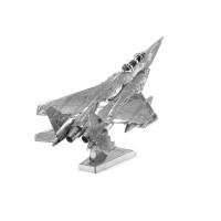 Mainan edukatif 3d Jigsaw puzzle metal Pesawat F15 EAGLE