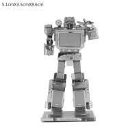 Mainan edukatif 3d Jigsaw puzzle metal SOUNDWAVE - TRANSFORMER
