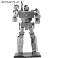 Mainan edukatif 3d Jigsaw puzzle metal MEGATRON - TRANSFORMER