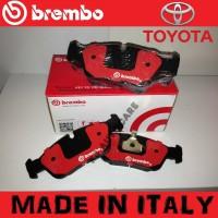 BREMBO BRAKE PAD KAMPAS REM MADE IN ITALY CRUISER 80 TURBO 95-ON DEPAN