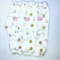 Celana Bayi LUVITA Celana Panjang Motif ( M,L ) - 3Pcs