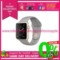 Apple Watch Series 1 - 38mm Aluminium Sport Gold Concrete MNNJ2 Resmi