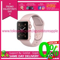 Apple Watch 2 - Series 2 Aluminium 42mm Rose Gold+Pink MQ142 Resmi