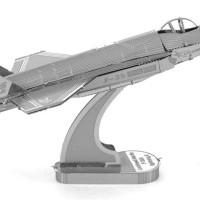 Mainan edukatif 3d Jigsaw puzzle metal Pesawat F35 LIGHTNING II