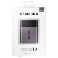 Hardisk SSD Samsung T3 Portable 500GB External SSD