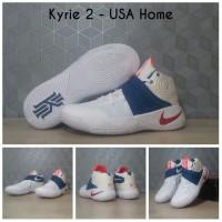 Sepatu Basket Nike Kyrie 2 Usa / Lebron / Curry / Kobe / jordan