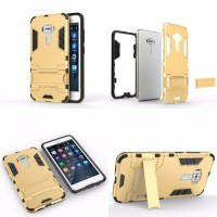 Case Cover With Build In Standing IRON MAN For Asus Zenfone 3 ze552kl